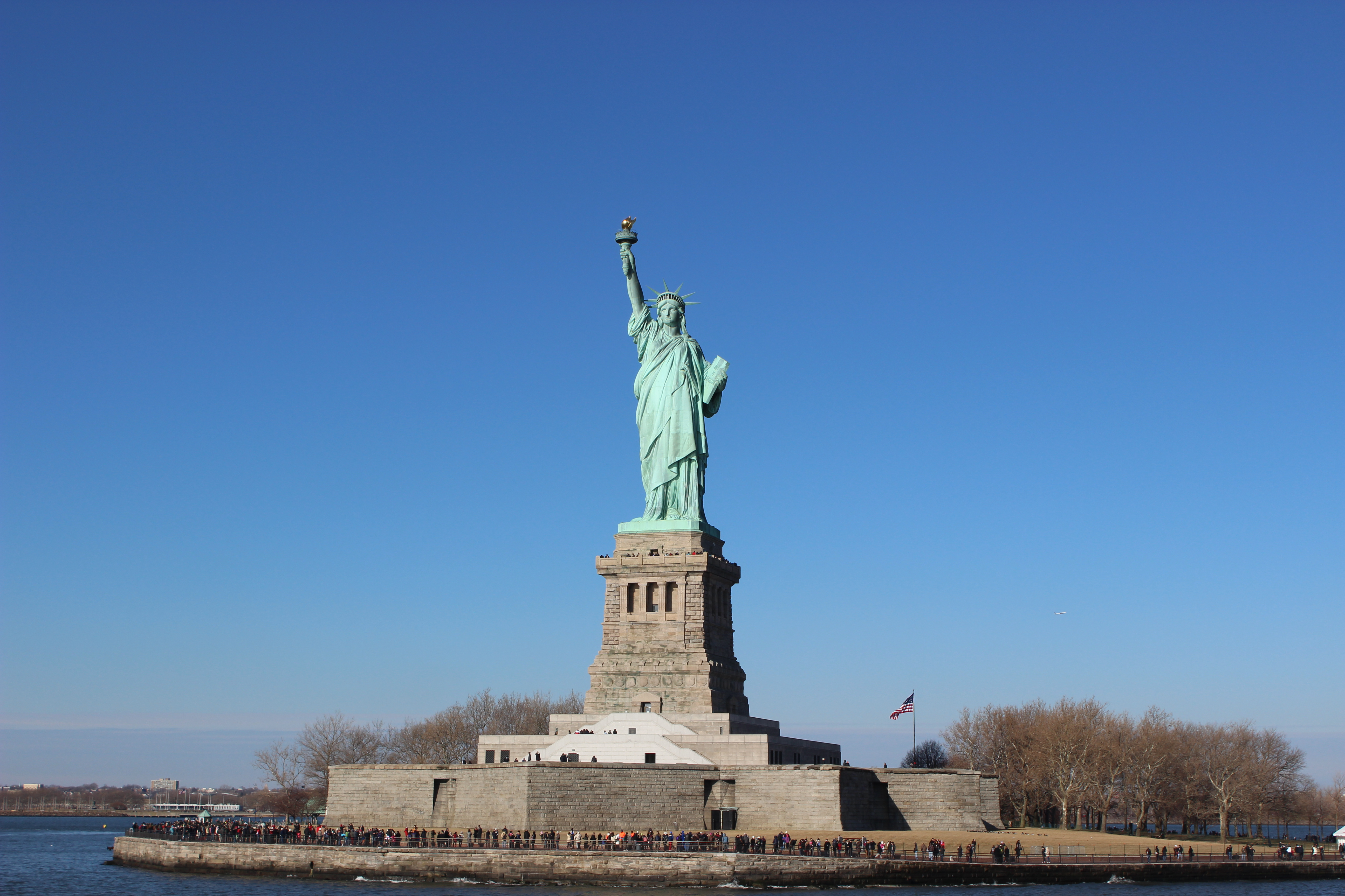 126 stand in the crown of the statue of liberty bucket list 250 the statue is 4625 meters tall and to go up to the crown you need to climb up the 354 step spiral staircase buycottarizona Gallery